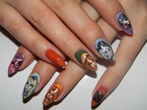 Ногти дота